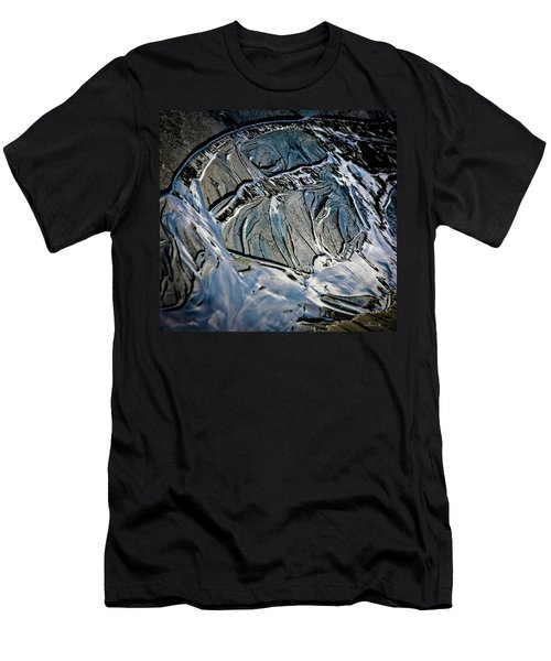 Sand Reflection Men's T-Shirt (Athletic Fit)