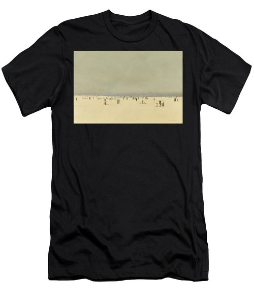 Sand Sea And Sky A Summer Phantasy Men's T-Shirt (Athletic Fit)