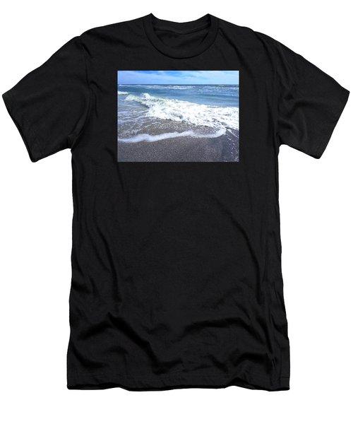 Sand, Sea, Sun No. 1 Men's T-Shirt (Athletic Fit)