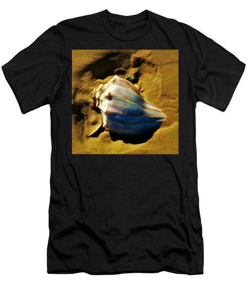 Sand Shell Men's T-Shirt (Slim Fit) by William Bartholomew