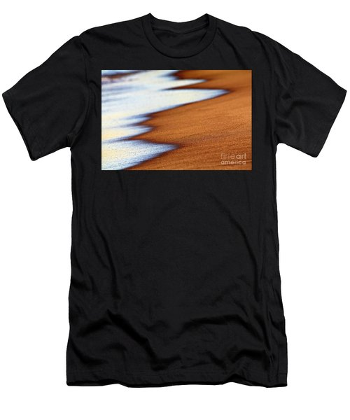 Sand And Waves Men's T-Shirt (Athletic Fit)