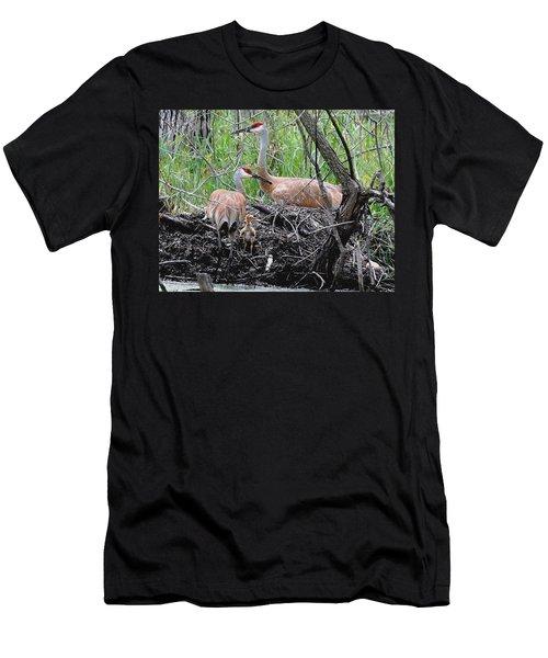 Sandhill Family  Men's T-Shirt (Athletic Fit)