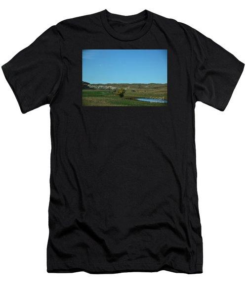 Sandhills Ranch Men's T-Shirt (Athletic Fit)