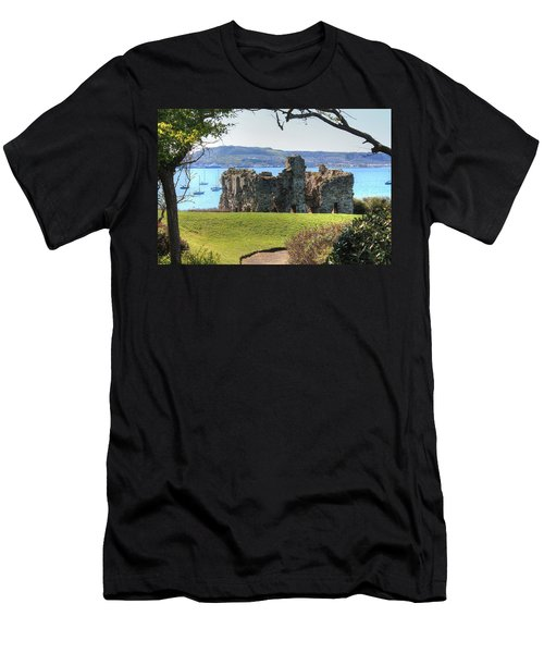 Sandsfoot Castle With Portland Men's T-Shirt (Athletic Fit)