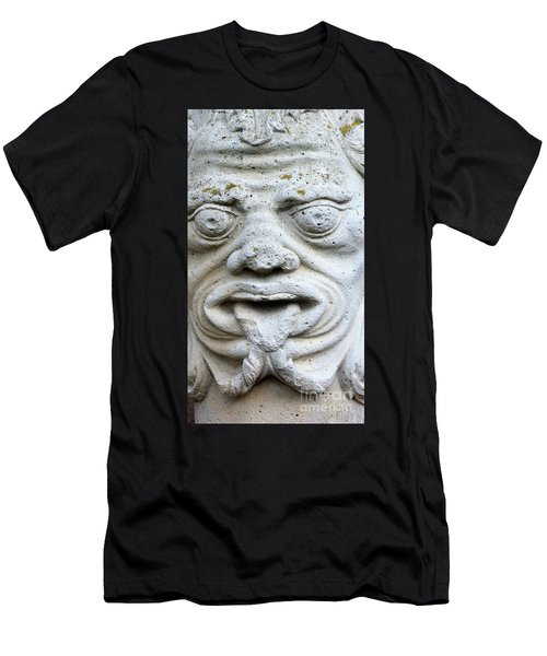 Sandstone Sculpture At The Main Entrance Of The Corvey Monastery Men's T-Shirt (Athletic Fit)
