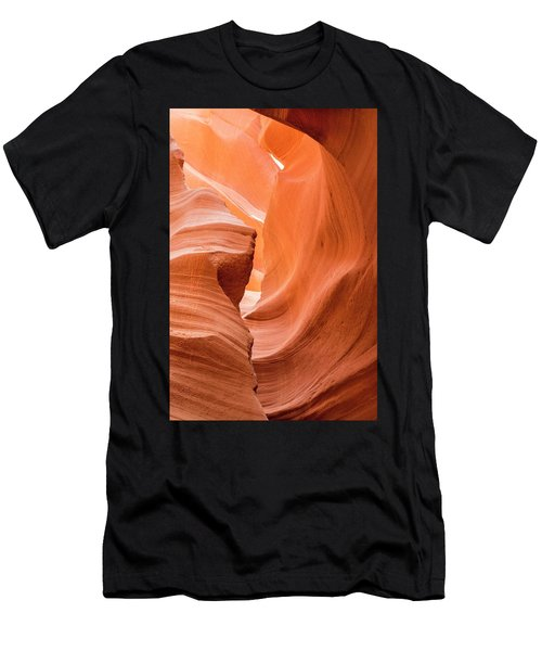 Men's T-Shirt (Athletic Fit) featuring the photograph Sandstone Swirls  by Jeanne May