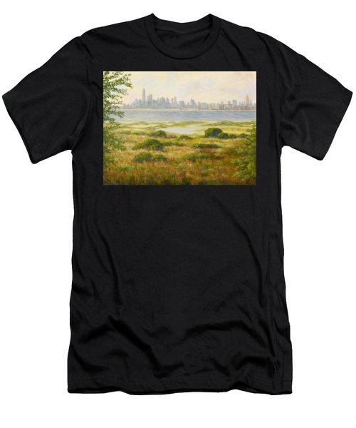 Sandy Hook View Men's T-Shirt (Athletic Fit)