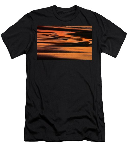 Sandy Reflection Men's T-Shirt (Athletic Fit)