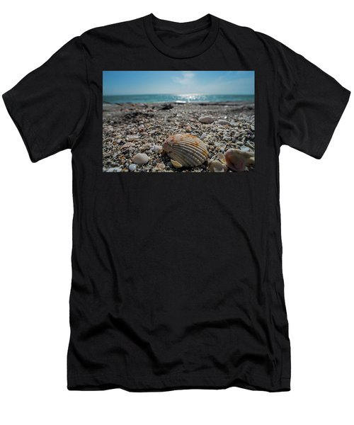 Sanibel Island Sea Shell Fort Myers Florida Men's T-Shirt (Athletic Fit)