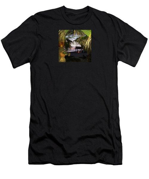 Sano Shack Sunset Men's T-Shirt (Athletic Fit)