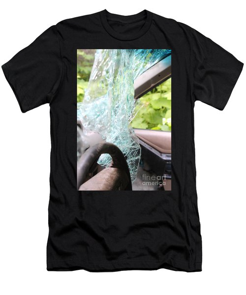 Men's T-Shirt (Athletic Fit) featuring the photograph Sans Rear View by Marie Neder