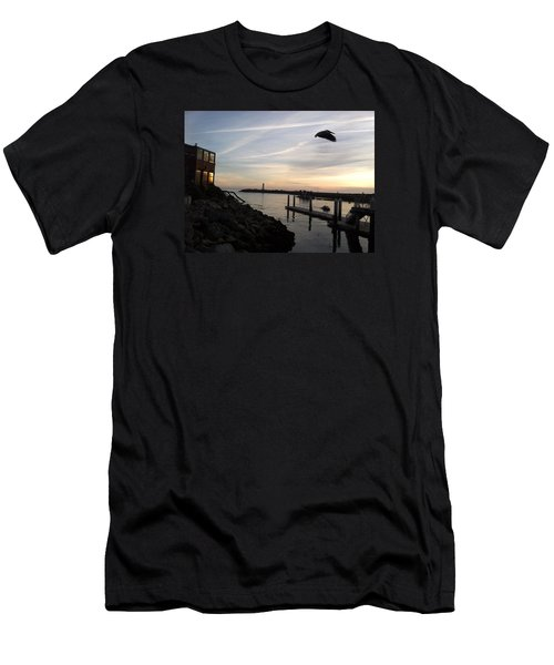 Santa Cruz Evening Men's T-Shirt (Athletic Fit)