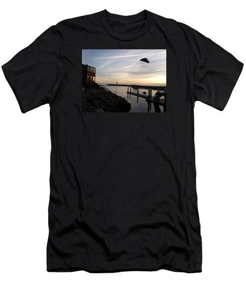 Santa Cruz Evening Men's T-Shirt (Athletic Fit)