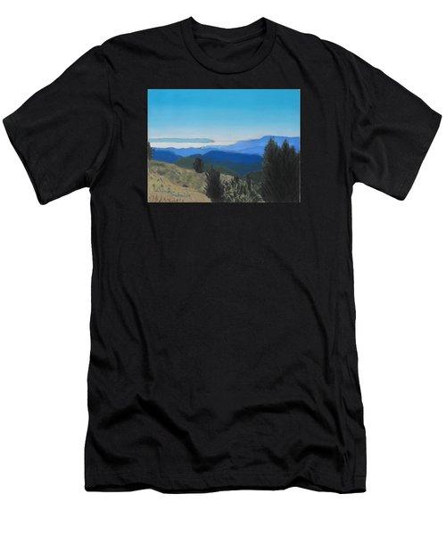 Santa Cruz Mountains Looking To Monterey Bay Men's T-Shirt (Athletic Fit)