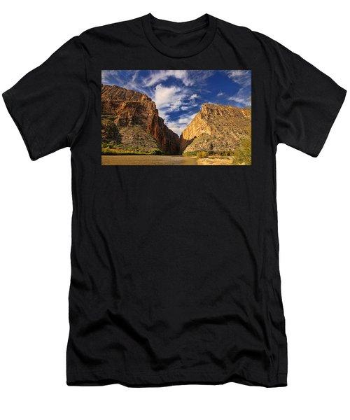 Santa Elena Canyon 3 Men's T-Shirt (Athletic Fit)