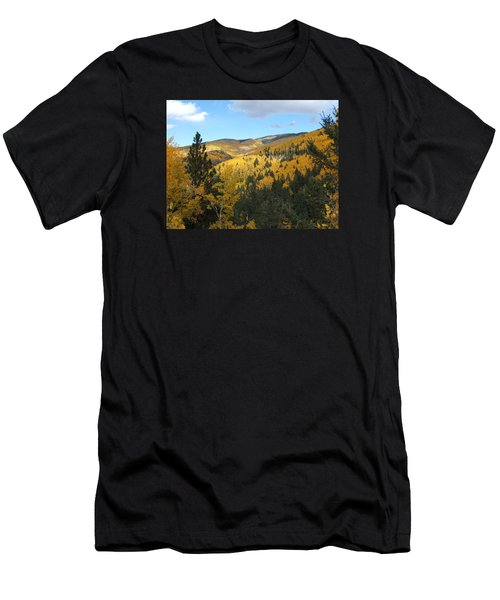 Santa Fe Autumn View Men's T-Shirt (Athletic Fit)