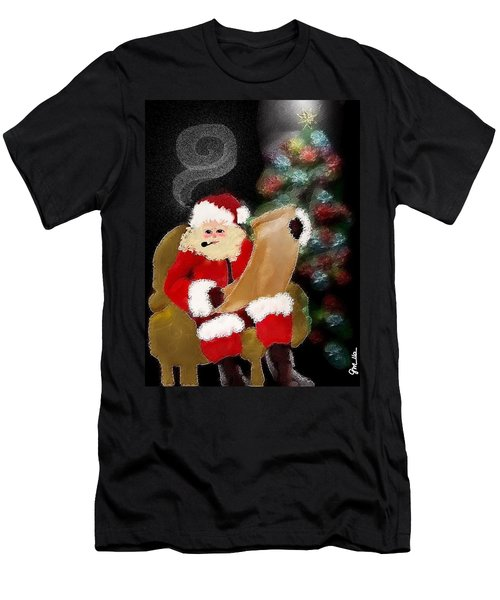 Santa  Men's T-Shirt (Athletic Fit)