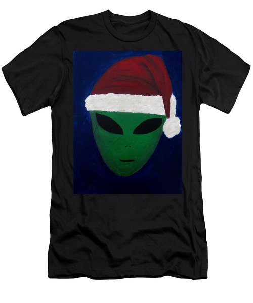 Santa Hat Men's T-Shirt (Athletic Fit)