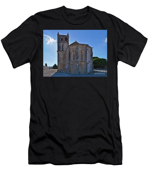Santa Maria Do Carmo Church In Lourinha. Portugal Men's T-Shirt (Athletic Fit)