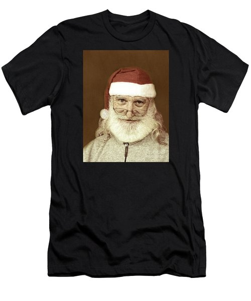 Santa's Day Off Men's T-Shirt (Athletic Fit)