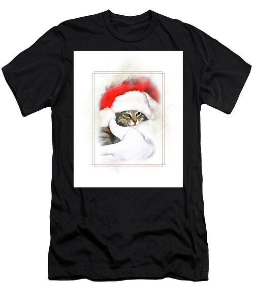 Santa's Helper Men's T-Shirt (Athletic Fit)