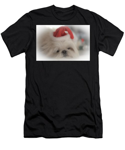Santa's Sweetie Men's T-Shirt (Athletic Fit)