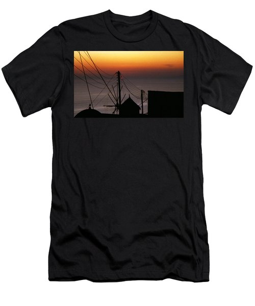 Santorini Men's T-Shirt (Athletic Fit)