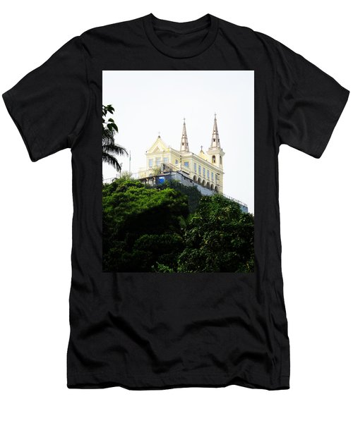 Santuario Da Penha Men's T-Shirt (Athletic Fit)