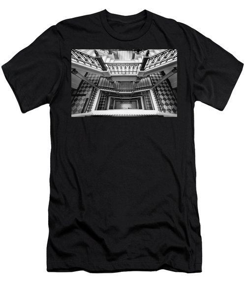 Sao Paulo - Gorgeous Staircases Men's T-Shirt (Athletic Fit)