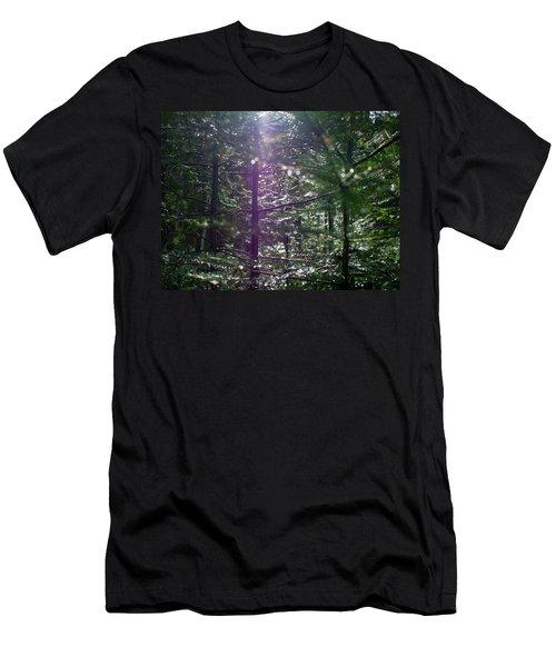 Saplings In The Sun Men's T-Shirt (Athletic Fit)