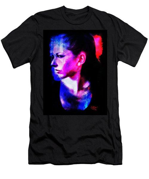 Sarah 2 Men's T-Shirt (Slim Fit) by Mark Baranowski