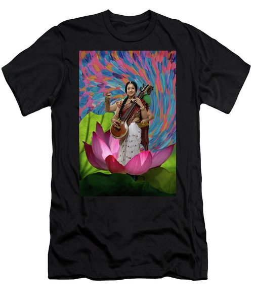 Saraswati Men's T-Shirt (Athletic Fit)