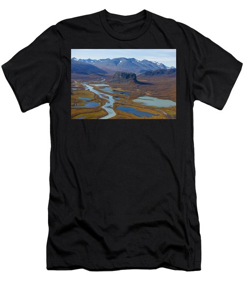 Sarek Nationalpark Men's T-Shirt (Athletic Fit)