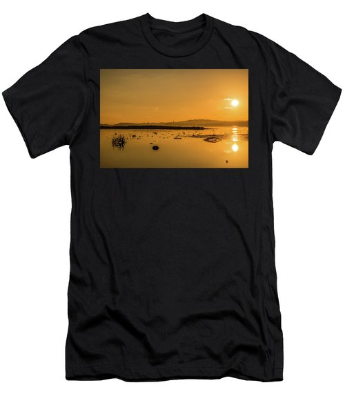 Saturday Morning Along The Estuary  Men's T-Shirt (Athletic Fit)