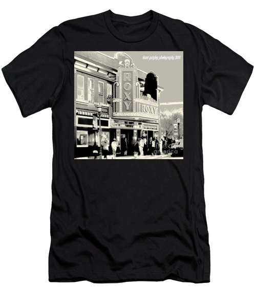 Saturday Night At The Roxy Men's T-Shirt (Athletic Fit)