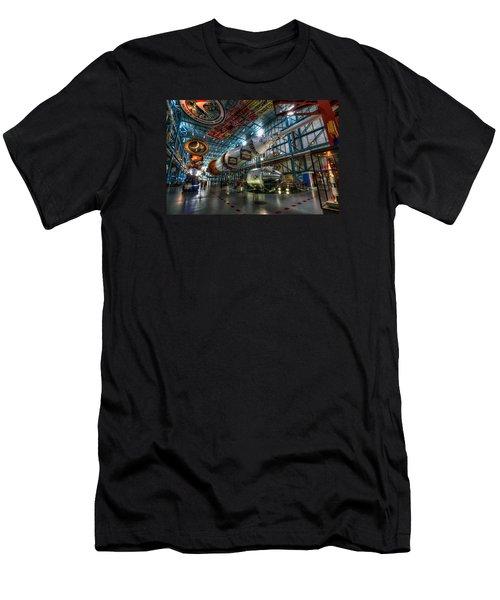 Saturn 5 Men's T-Shirt (Athletic Fit)