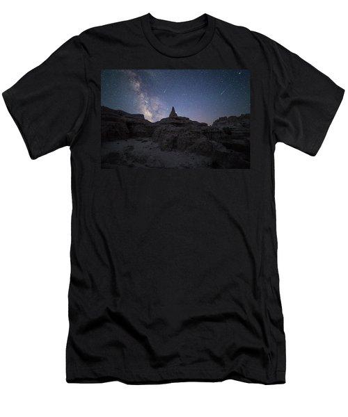 Saturn Point Men's T-Shirt (Athletic Fit)