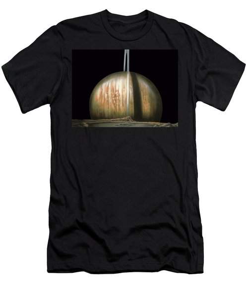 Saturn Rising Men's T-Shirt (Athletic Fit)