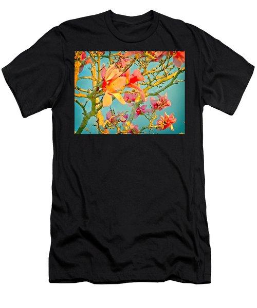 Saucer Magnolia Men's T-Shirt (Athletic Fit)