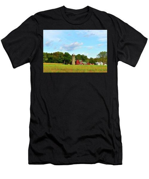 Sauer Farm, Mt. Marion Men's T-Shirt (Athletic Fit)