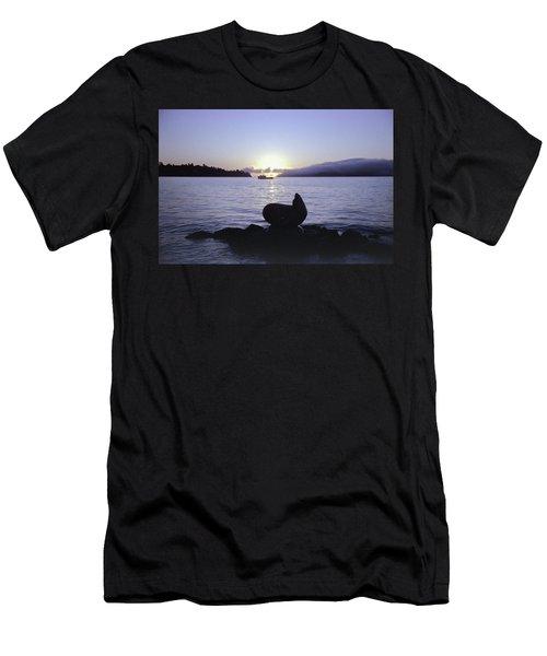 Sausalito Morning Men's T-Shirt (Athletic Fit)