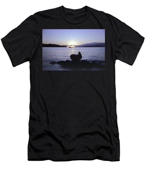 Sausalito Morning Men's T-Shirt (Athletic Fit)