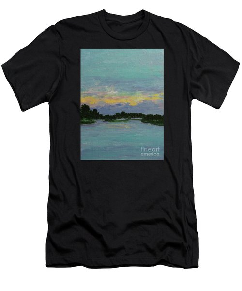 Savannah Sunrise Men's T-Shirt (Athletic Fit)