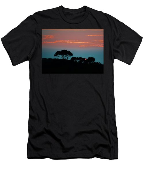 Savannah Sunset Men's T-Shirt (Athletic Fit)