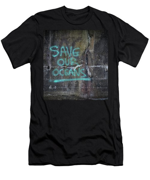 Save Our Oceans Men's T-Shirt (Athletic Fit)