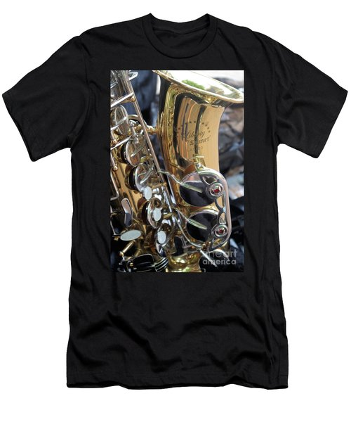 Sax In The City Men's T-Shirt (Athletic Fit)