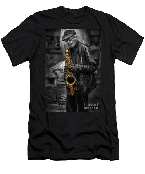 Sax Love Men's T-Shirt (Athletic Fit)
