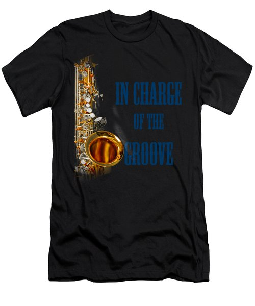 Saxophones In Charge Of The Groove 5532.02 Men's T-Shirt (Athletic Fit)