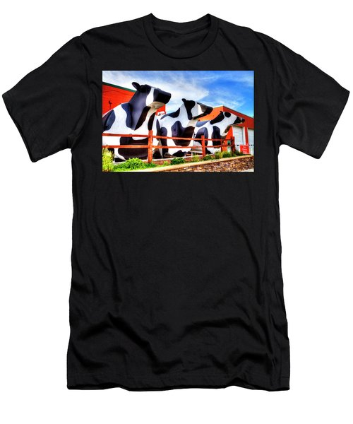 Say Cheese Men's T-Shirt (Athletic Fit)