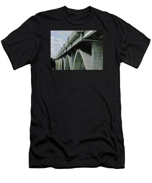 Saying Goodbye Men's T-Shirt (Athletic Fit)